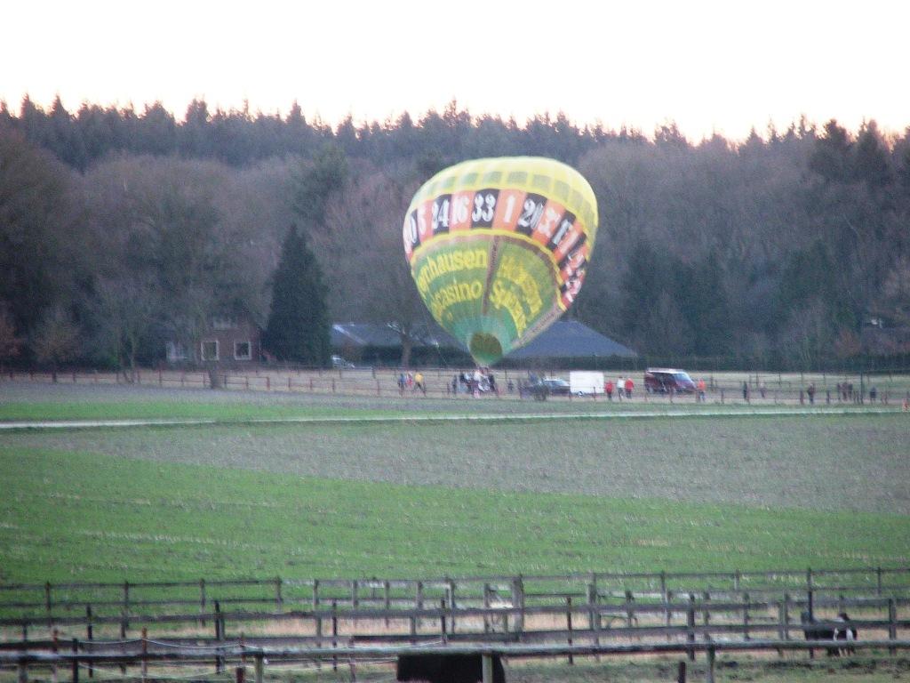Ballon vanaf de Enk